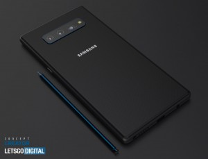 Смартфон Samsung Galaxy Note 20 5G показали на рендерах