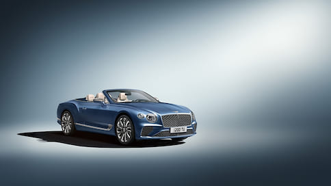 Bentley Continental GT Convertible получил версию Mulliner